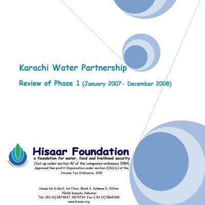 Karachi Water Partnership Review of Phase 1