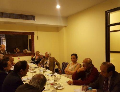 Pakistan Economic Forum Meeting
