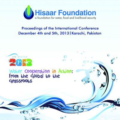 Water Conference Proceedings Report