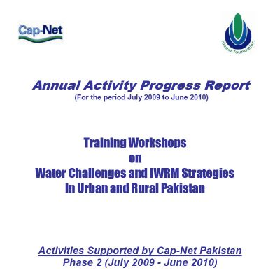Annual Activity Progress Report June 2010