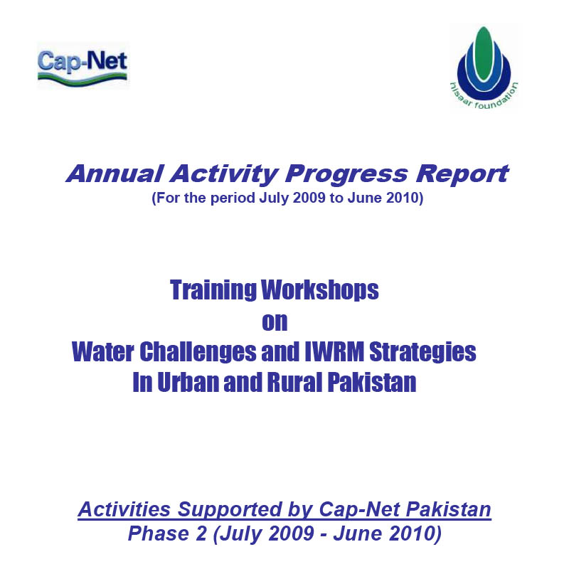 Annual Activity Progress Report June 2010
