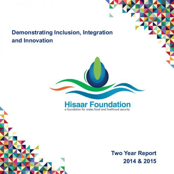 HF 2 Year Report (2014-2015)