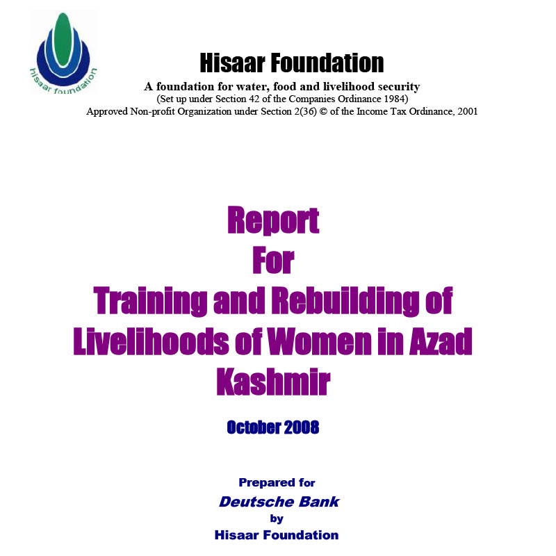 Report on Nutrition _ livelihood