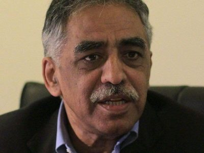 Sindh Governor Mohammad Zubair. PHOTO: REUTERS