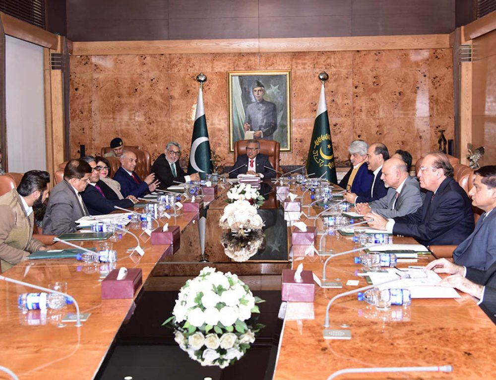 Meeting with the President of Pakistan – 13th meeting of Hisaar Foundation Think Tank on Rational Use of Water
