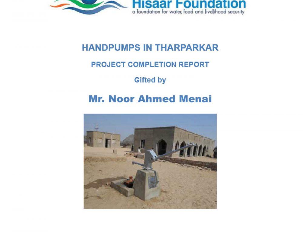 Handpumps in Tharparkar